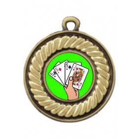 Cards Medal M159-K42 - Trophy Land