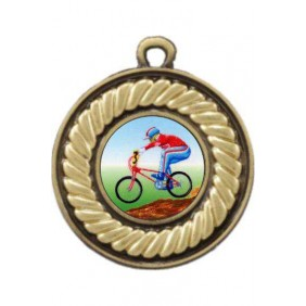 Cycling Medal M159-K54 - Trophy Land