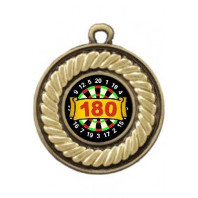 Darts Medal M159-K67 - Trophy Land