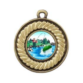 Fishing Medal M159-K76 - Trophy Land