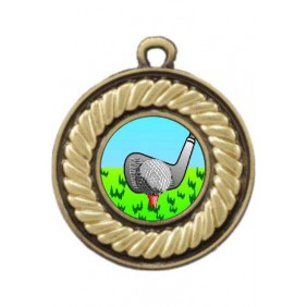 Golf Medal M159-K88 - Trophy Land