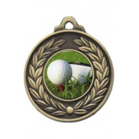 Golf Medal M160-C171 - Trophy Land