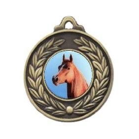 Horse Medal M160-C351 - Trophy Land