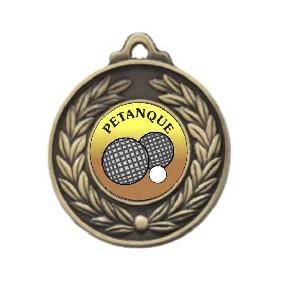 Lawn Bowls Medal M160-K125 - Trophy Land
