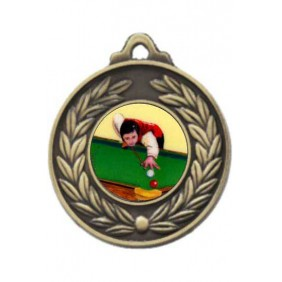 Snooker Medal M160-K130 - Trophy Land