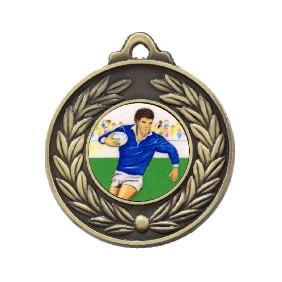 Rugby Medal M160-K139 - Trophy Land