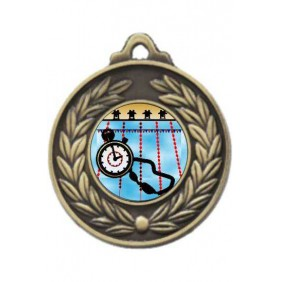Swimming Medal M160-K165 - Trophy Land