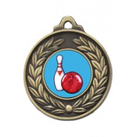 Ten Pin Medal M160-K173 - Trophy Land