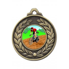 Cycling Medal M160-K55 - Trophy Land