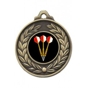 Darts Medal M160-K68 - Trophy Land