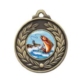 Fishing Medal M160-K77 - Trophy Land