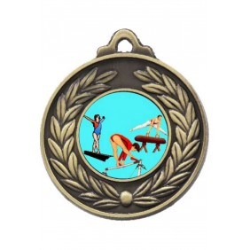 Gymnastics Medal M160-K92 - Trophy Land