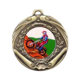 Motorsports Medal M172-K119 - Trophy Land
