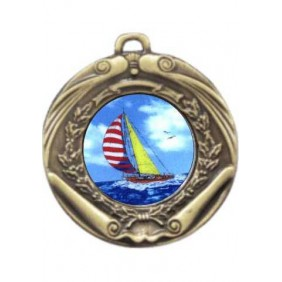 Sailing Medal M172-K147 - Trophy Land