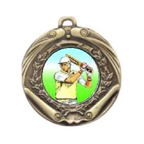 Cricket Medal M172-K48 - Trophy Land