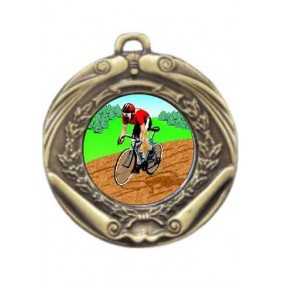 Cycling Medal M172-K55 - Trophy Land