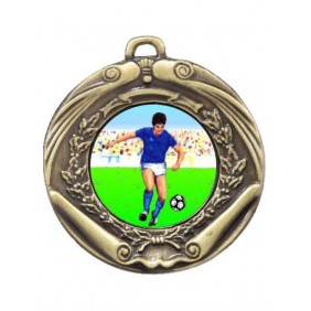Football Medal M172-K83 - Trophy Land