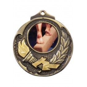 Gymnastics Medal M411-C141 - Trophy Land