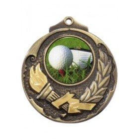 Golf Medal M411-C171 - Trophy Land