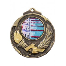 Swimming Medal M411-C201 - Trophy Land