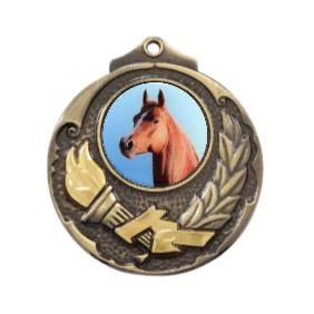 Horse Medal M411-C351 - Trophy Land