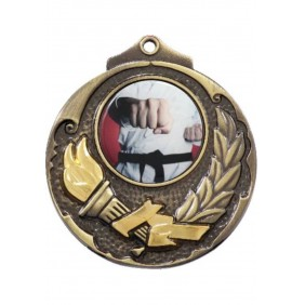 Combat Sports Medal M411-C451 - Trophy Land