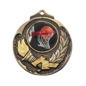 Basketball Medal M411-C601 - Trophy Land