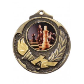 Chess Medal M411-C781 - Trophy Land