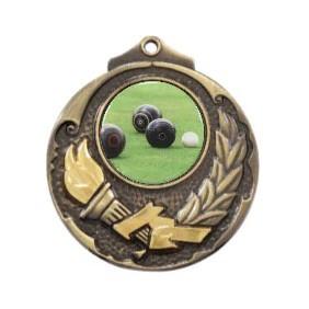 Lawn Bowls Medal M411-C831 - Trophy Land
