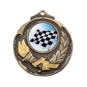 Motorsports Medal M411-C841 - Trophy Land