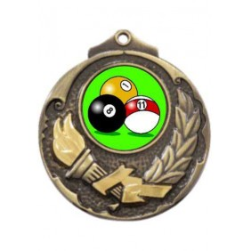 Snooker Medal M411-K129 - Trophy Land