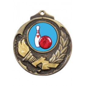 Ten Pin Medal M411-K173 - Trophy Land