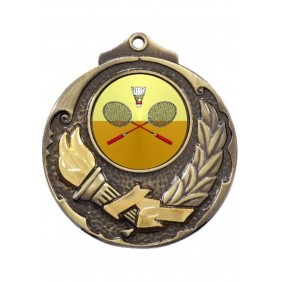 Badminton Medal M411-K23 - Trophy Land