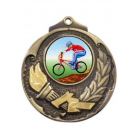 Cycling Medal M411-K54 - Trophy Land