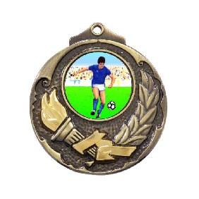 Football Medal M411-K83 - Trophy Land