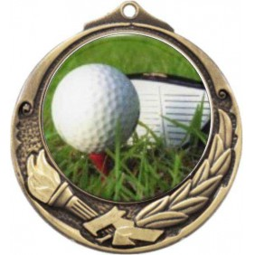 Golf Medal M412-C171 - Trophy Land
