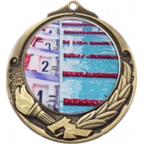 Swimming Medal M412-C201 - Trophy Land