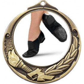 Dance Medal M412-C322 - Trophy Land