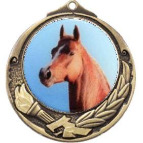 Horse Medal M412-C351 - Trophy Land
