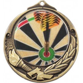 Darts Medal M412-C381 - Trophy Land