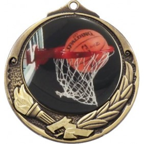 Basketball Medal M412-C601 - Trophy Land