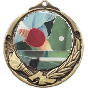 Ping Pong Medal M412-C661 - Trophy Land