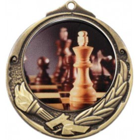 Chess Medal M412-C781 - Trophy Land