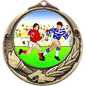 Rugby Medal M412-K136 - Trophy Land