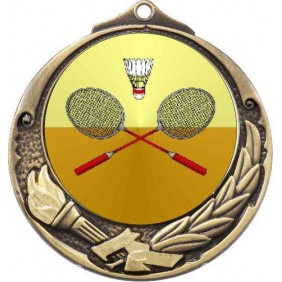 Badminton Medal M412-K23 - Trophy Land