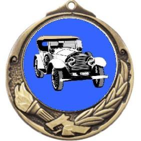 Motorsports Medal M412-K34 - Trophy Land