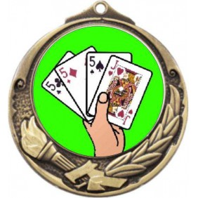 Cards Medal M412-K42 - Trophy Land