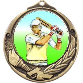 Cricket Medal M412-K48 - Trophy Land