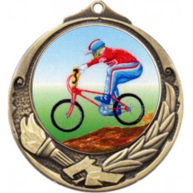 Cycling Medal M412-K54 - Trophy Land