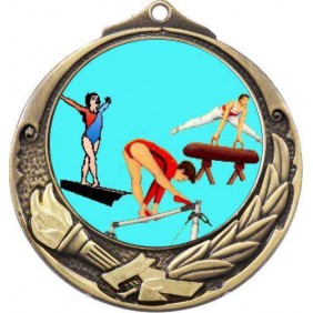 Gymnastics Medal M412-K92 - Trophy Land